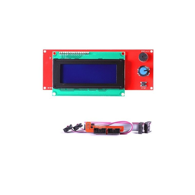 LCD 2004 Intelligent Reprap Controller 3D Printer