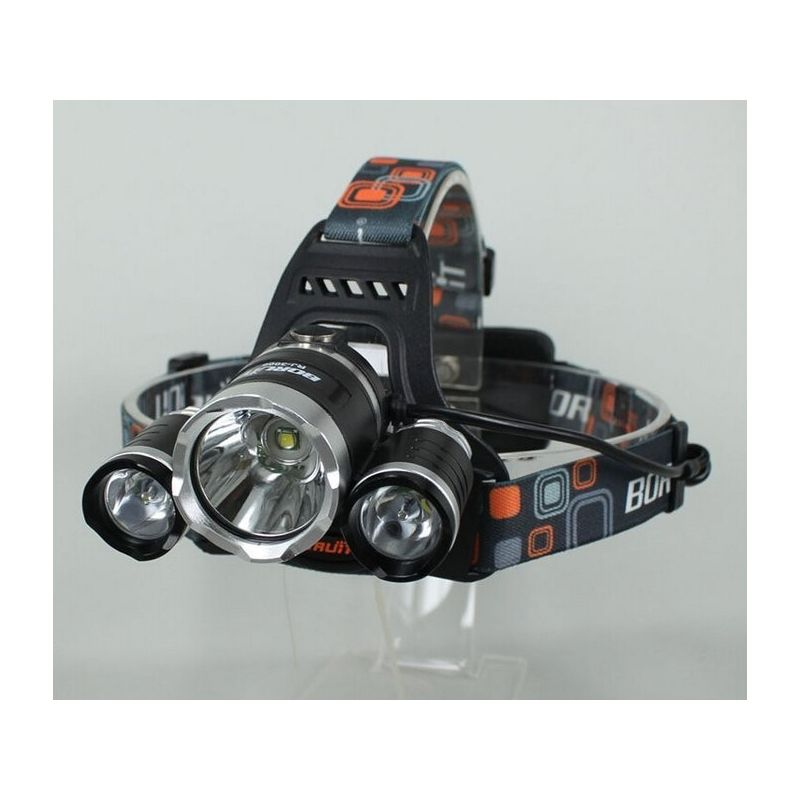 HEADLAMP OUTDOOR 3x CREE XM-L