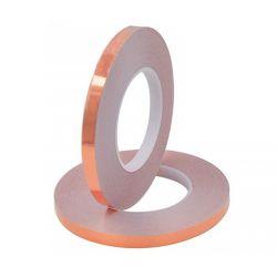 Fita adesiva 10mm de cobre...