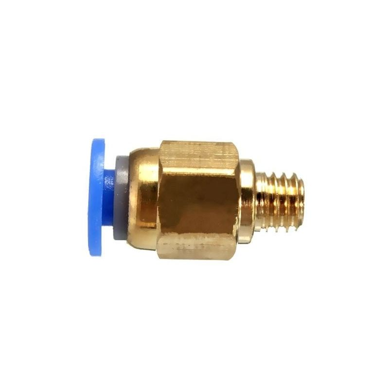 PC4-M6 Pneumatic connector for PTFE tube quick coupler