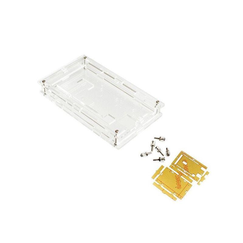 Caixa de Acrílico Transparente para Arduino Mega2560