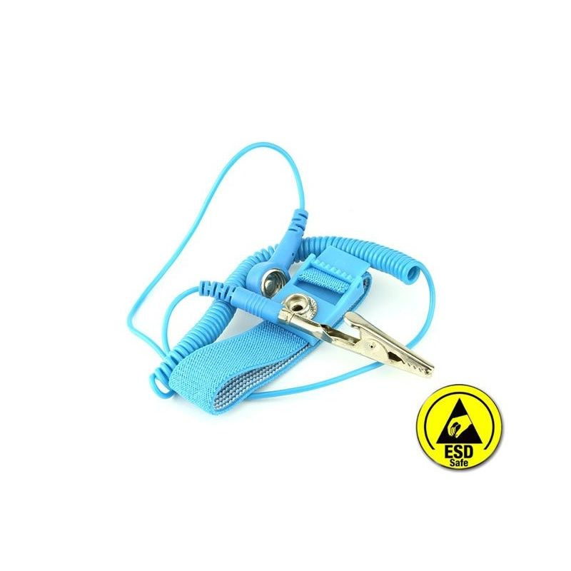 Electronic Antistatic Wrist Bracelet ESD Blue