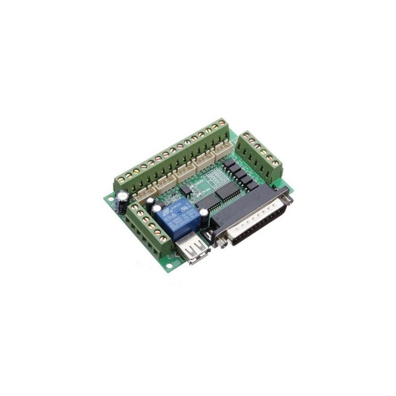 5 Eixo CNC Interface Board Stepper Driver Mach3 USB CNC Máquina de corte