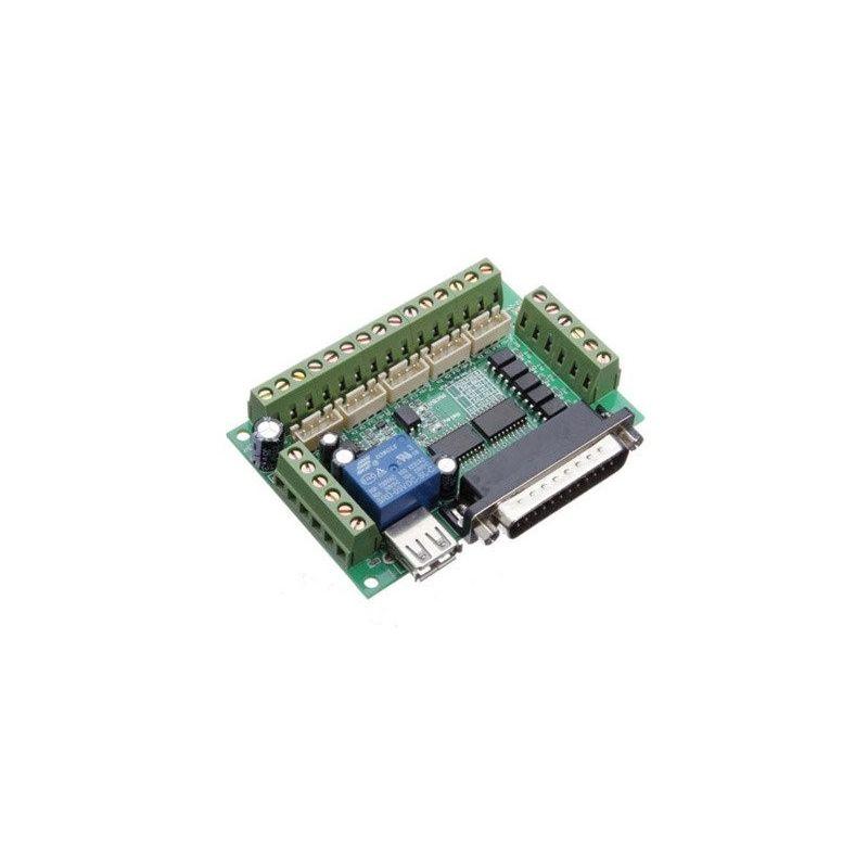 5 Ejes CNC Interface Board Stepper Driver Mach3 USB CNC Maquina Corte