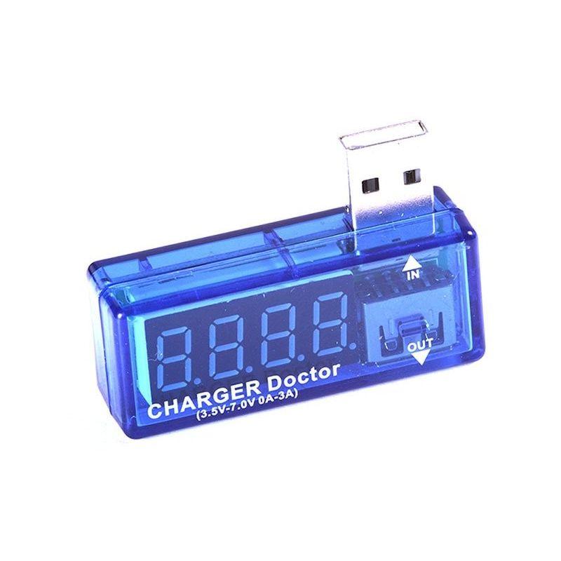 Verificador de medidor de corrente e tensão