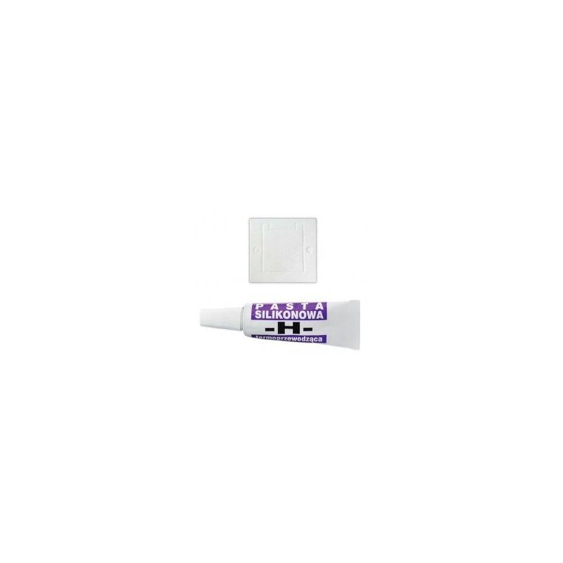 Kit de pad aislante + Pasta térmica para célula Peltier