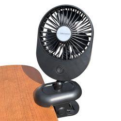 Pocket ventilator 2W 9cm black