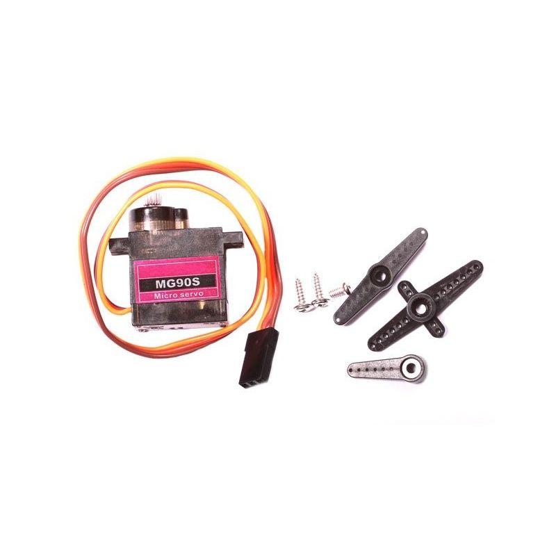 Servomotor Compatible con MG90S Micro Servo 180 grados