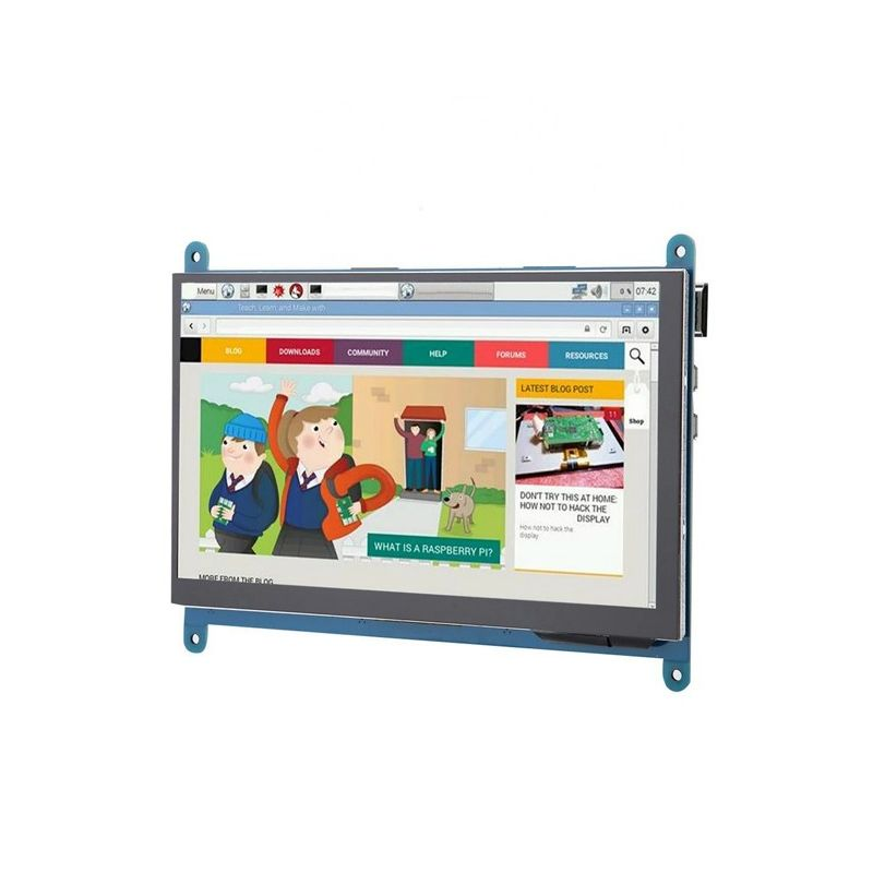 7 Inch Full View LCD TFT Touch Screen 1024x600 HD HDMI Display Monitor