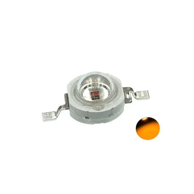 LED Diodo 1W SMD Laranja