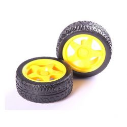 Car Robot Tire Wheel Smart Car