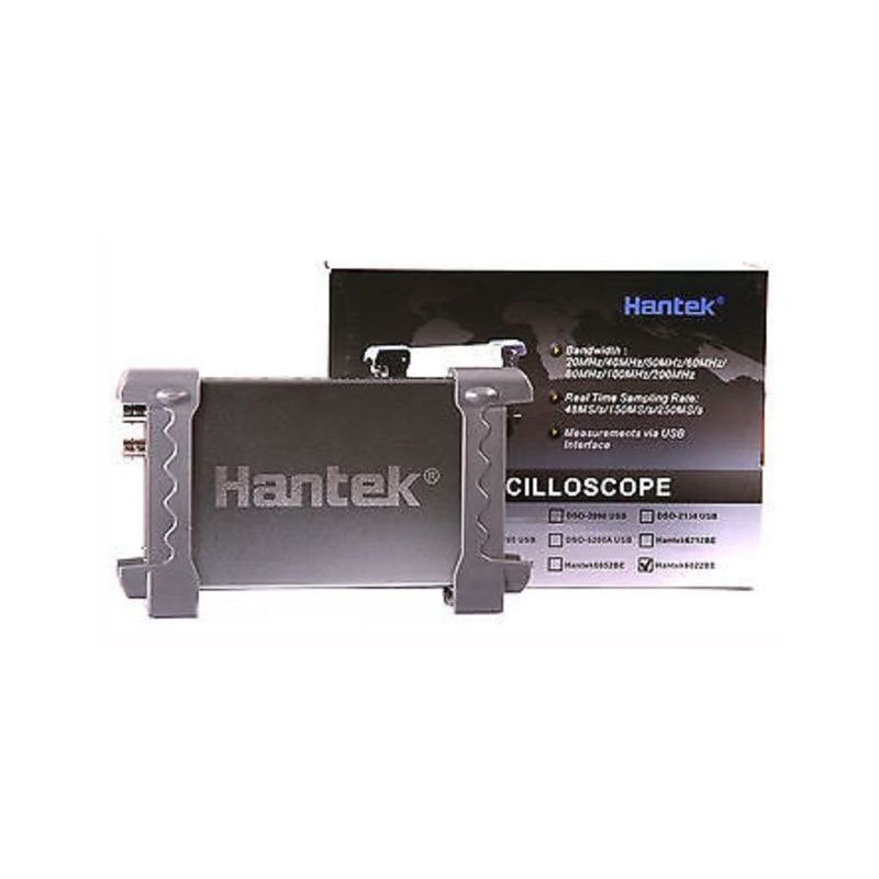 Osciloscópio Hantek 6022BE USB 2-channel 20MHz