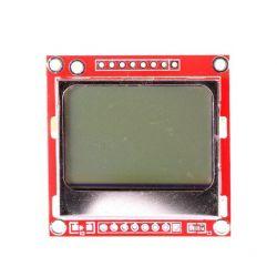 Gráficos de tela LCD 84x48...
