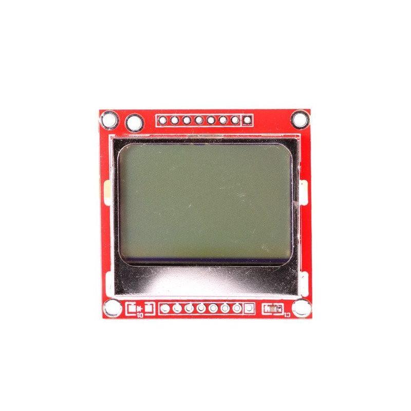 Gráficos de tela LCD 84x48 Nokia 5110 3310 SPI Branco