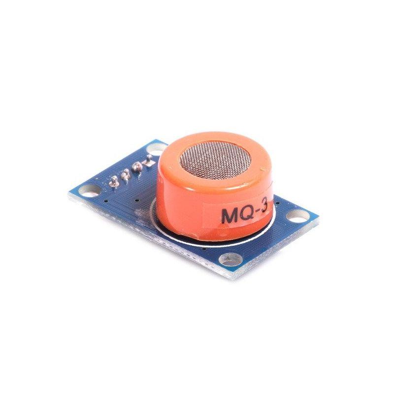 MQ-3 Módulo Sensor de Alcohol Etanol Alcoholimetro