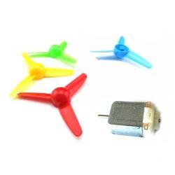 Yellow Propeller for Micro Motor 3V 5 6V DC DIY for Arduino