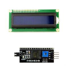 Kit de tela LCD 16x2 Azul...