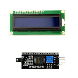 LCD Display Screen Blue...