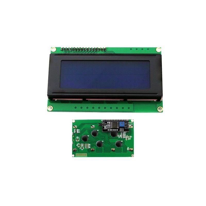 Pantalla  LCD 20x4 2004 Retroiluminado Azul PCF8574T I2C