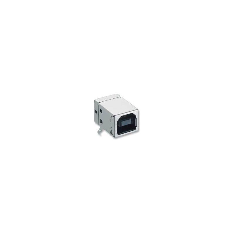 Conector hembra USB 2.0 tipo B
