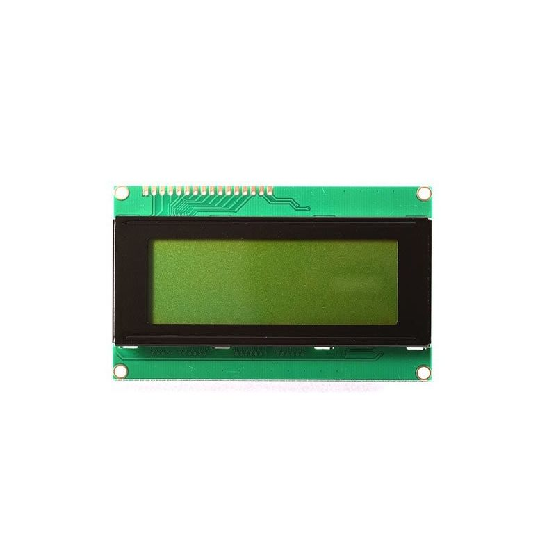 20x4 2004 Retroiluminado LCD Display Fundo Verde
