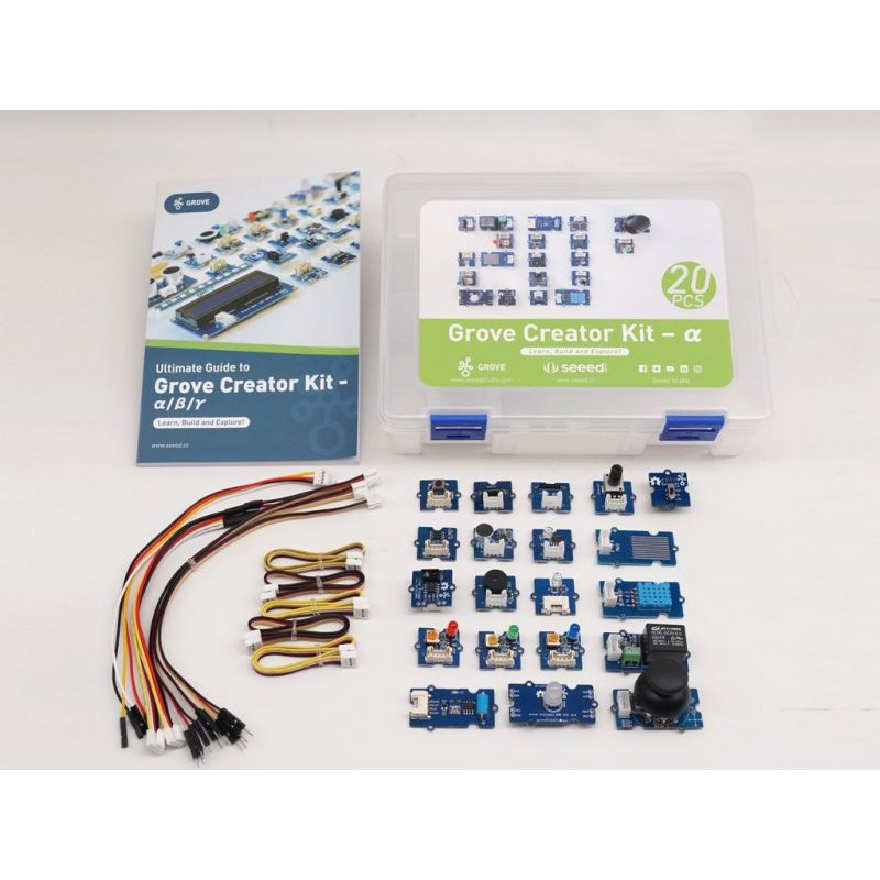 Kit Seeed Grove 20 sensors for Arduino