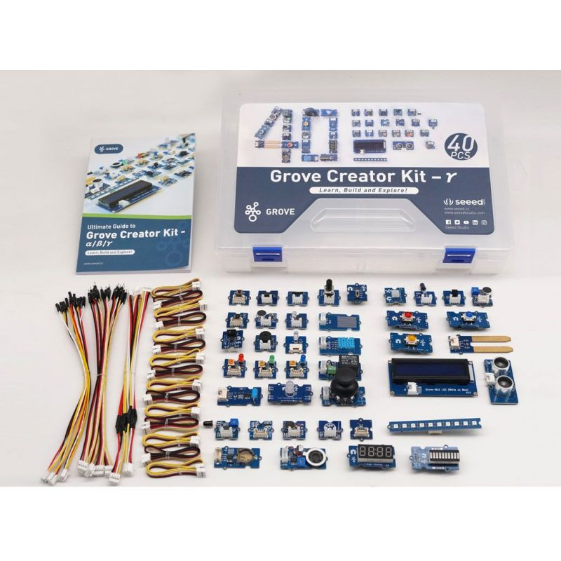 copy of Kit Seeed Grove 30 sensors for Arduino