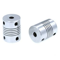 2x Flexible Coupler 5mm/5mm...