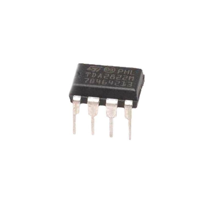 TDA2822M DIP8 Amplificador de energia de baixa tensão estéreo duplo