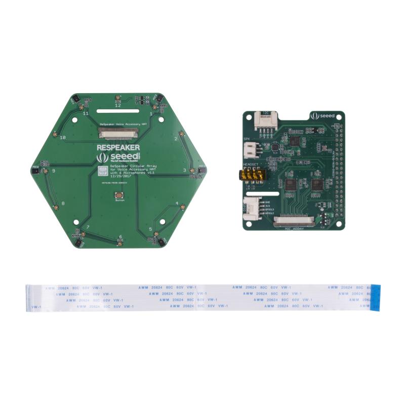 Seeed Respeaker 6/Mic Circular Array Kit for Raspberry Pi