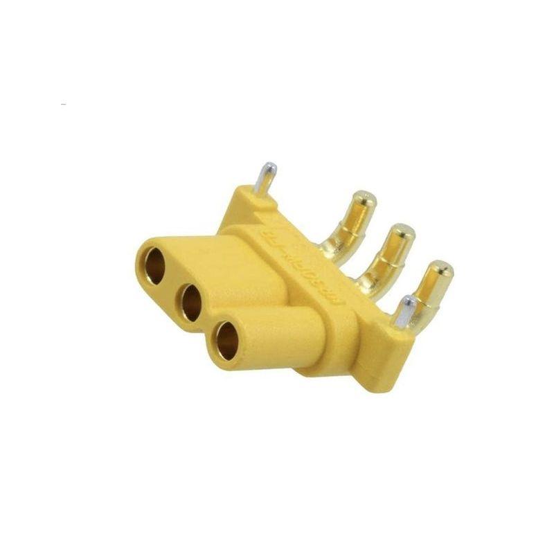 MR30PW-FB Socket DC supply MR30 female PIN: 3