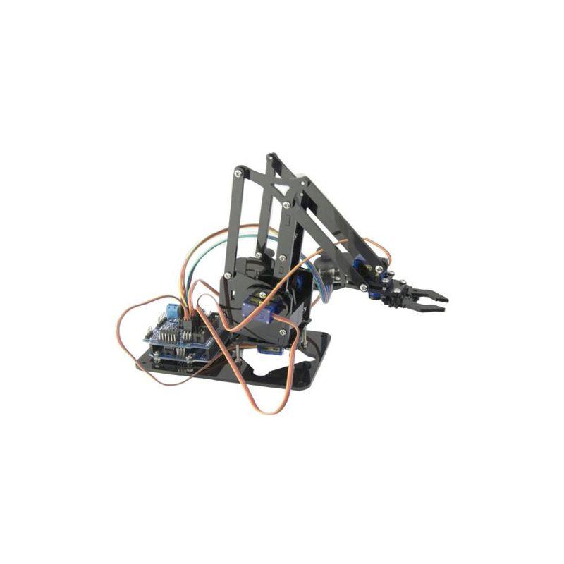 Acrylic robot 4 DOF arm full educational Kit (arm, servo, board,etc)