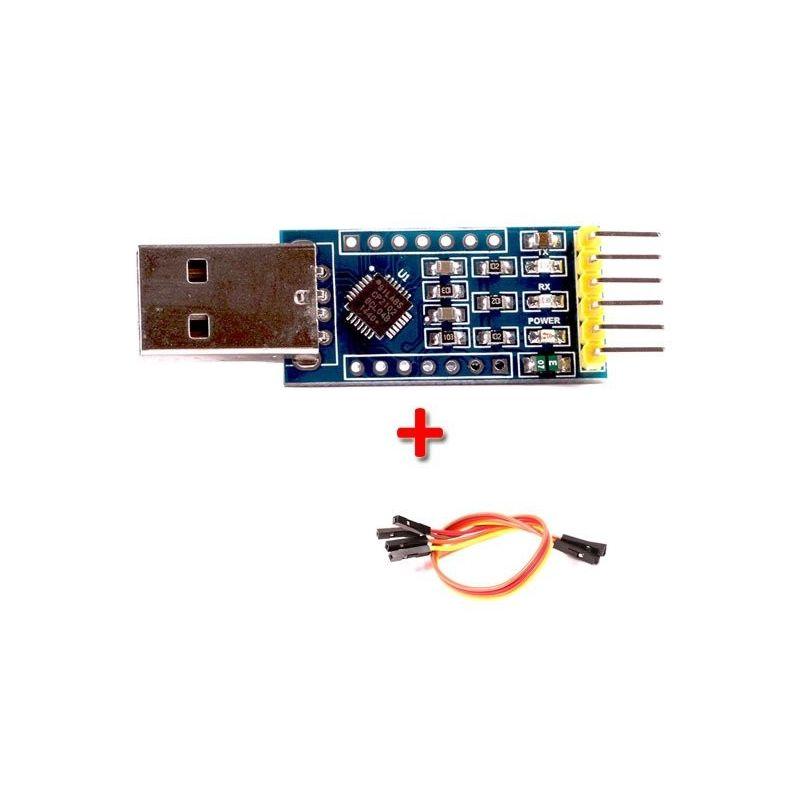 Conversor de séries CP2102 USB 2.0 para TTL UART