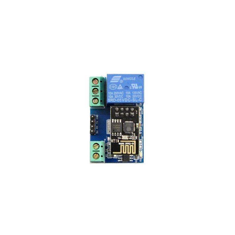 ESP8266 ESP-1 Módulo Relé WiFi 5V Control Remoto AP + STA