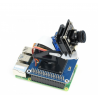 2-DOF Pan-Tilt HAT for Raspberry Pi - tilt camera holder