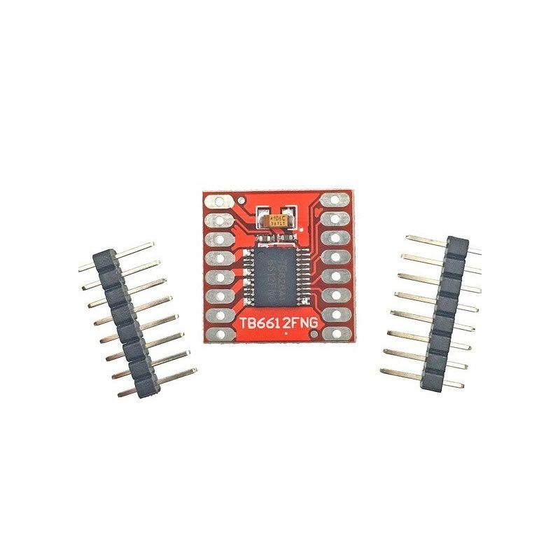 Controlador de motor TB6612FNG DC PAP (passo a passo)