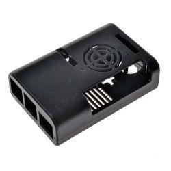 Caixa preta com ventilador...