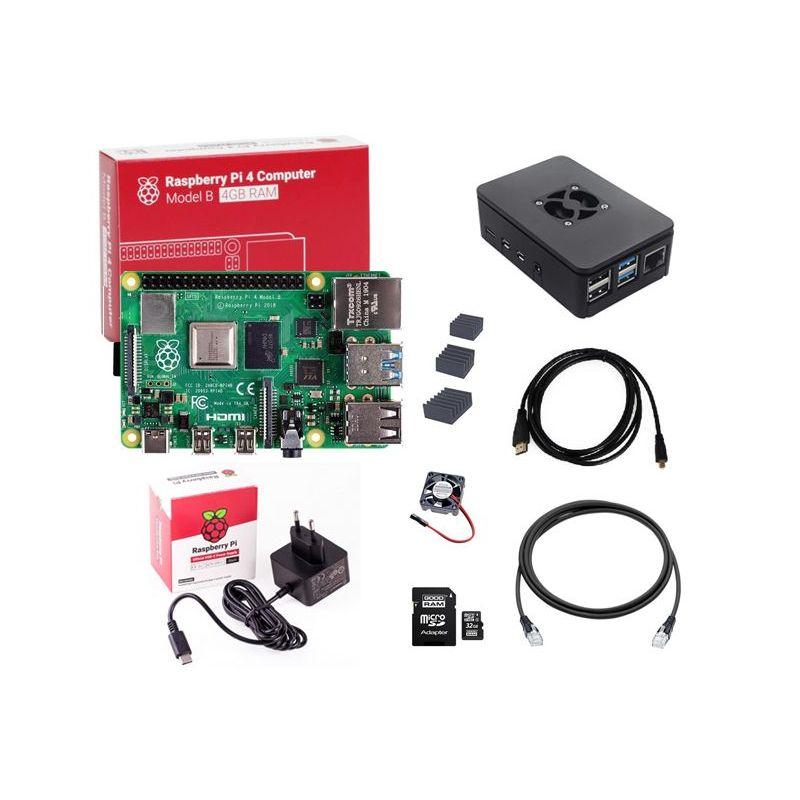 Raspberry Pi4  4GB Basic Kit