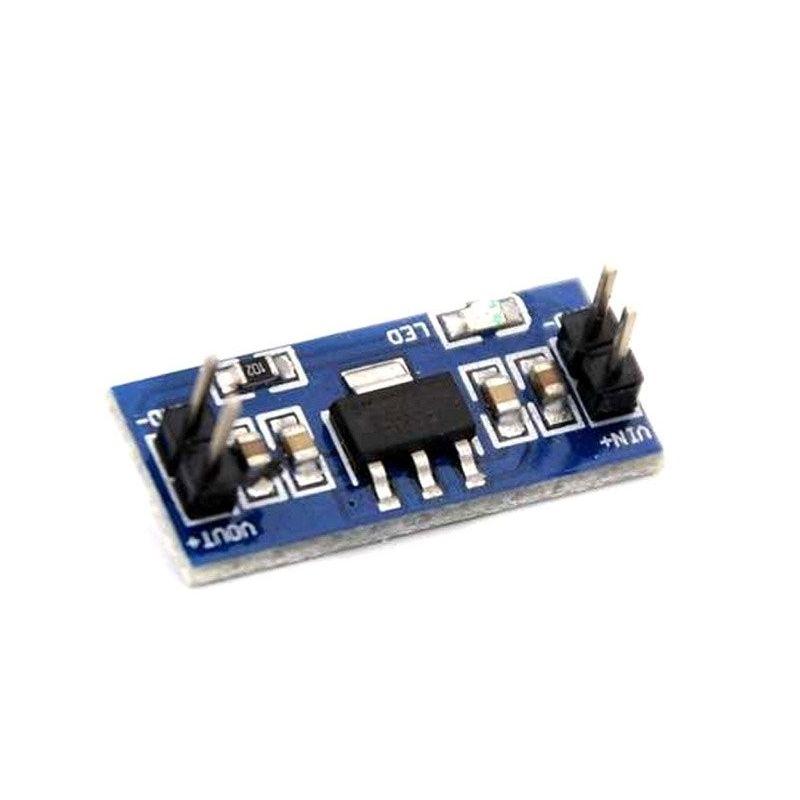 AMS1117 4.5-12V CONVERSOR DC-to-DC a 3.3V 0.8A Saída fixa