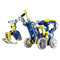 SOLAR AND HYDRAULIC ROBOT -...