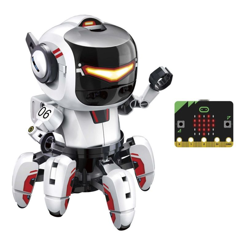 TOBBIE II, The intelligent riding robot with micro:bit - KSR20 Educational toy
