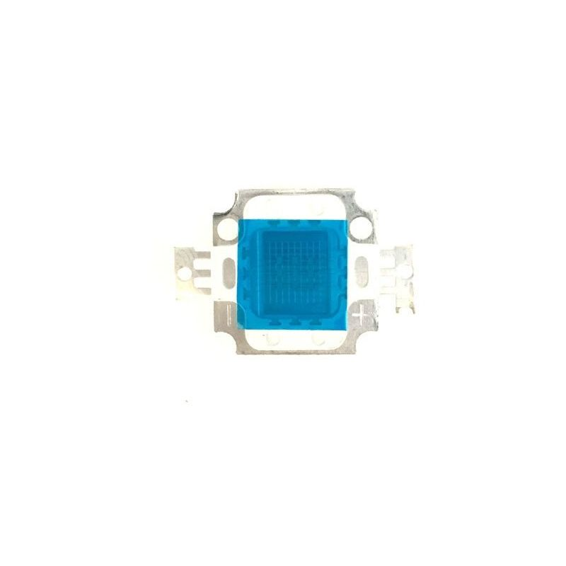 Diodo LED COB 10W Azul SMD