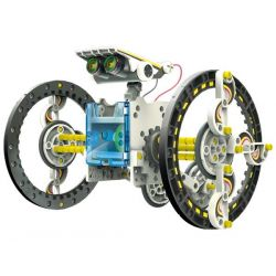 SOLAR ROBOT KIT - 14 in 1 -...