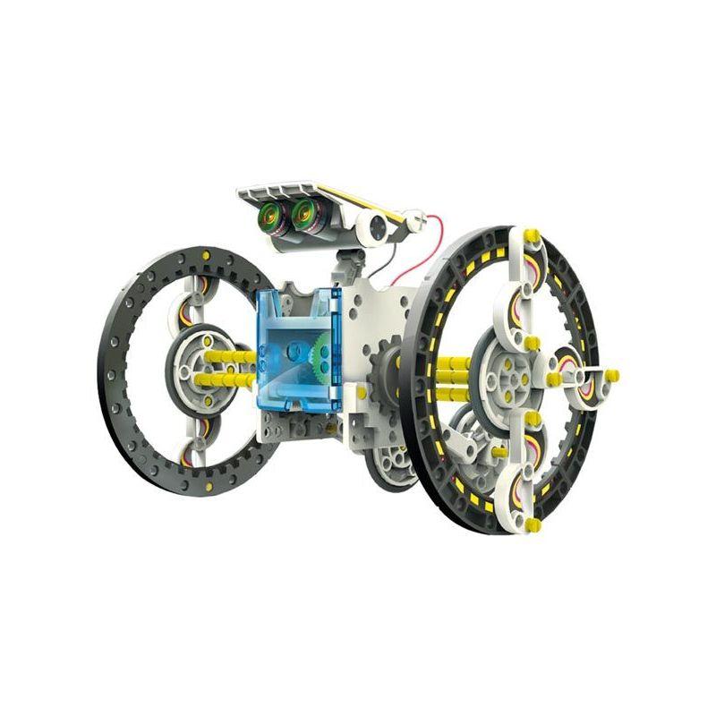 SOLAR ROBOT KIT - 14 in 1 - KSR13 Educational Toy