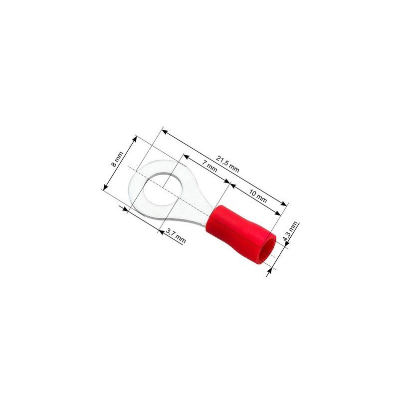 Ring Terminals Isolation pack 10pcs