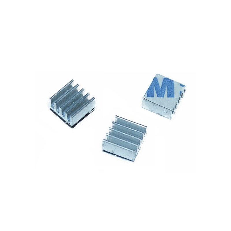 Dissipador de calor Alumínio adesivo A4988 DRV8825