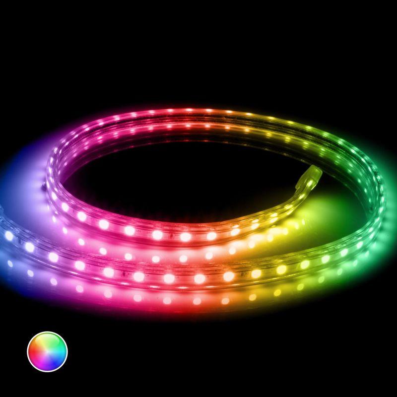 RGB LED Smart Strip WS2812B Black 5m 30LED/m IP65