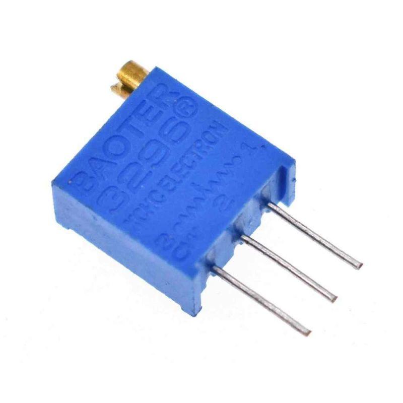 Potenciometro Trimpot 3296W 100K Ohm kΩ lineal