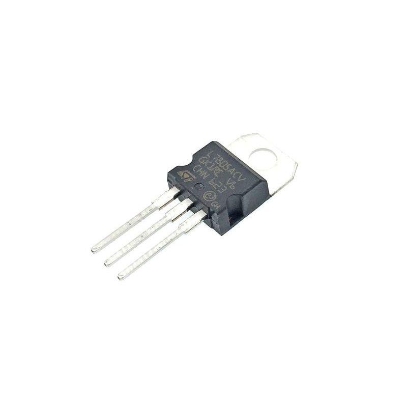 Voltage Regulator 2% 5V 1.5A TO-220 L7805ACV
