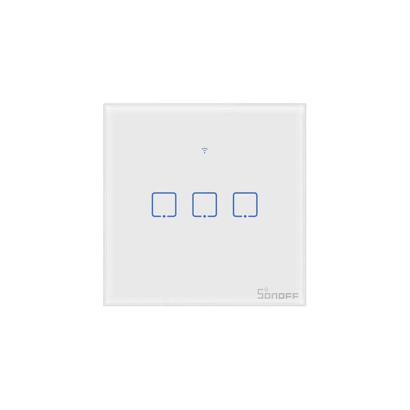 SONOFF T0EU3C TX EU Series - 3 channel WiFi wall switch